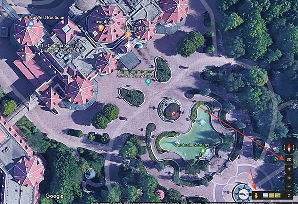 Разбор дистанции с помощью 3D Google Maps